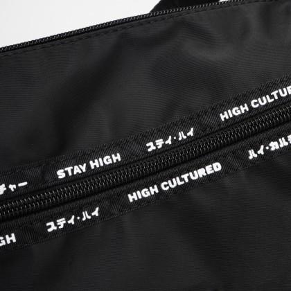 SANDSTONE Tag Halfmoon Essential Bag   Black - 48